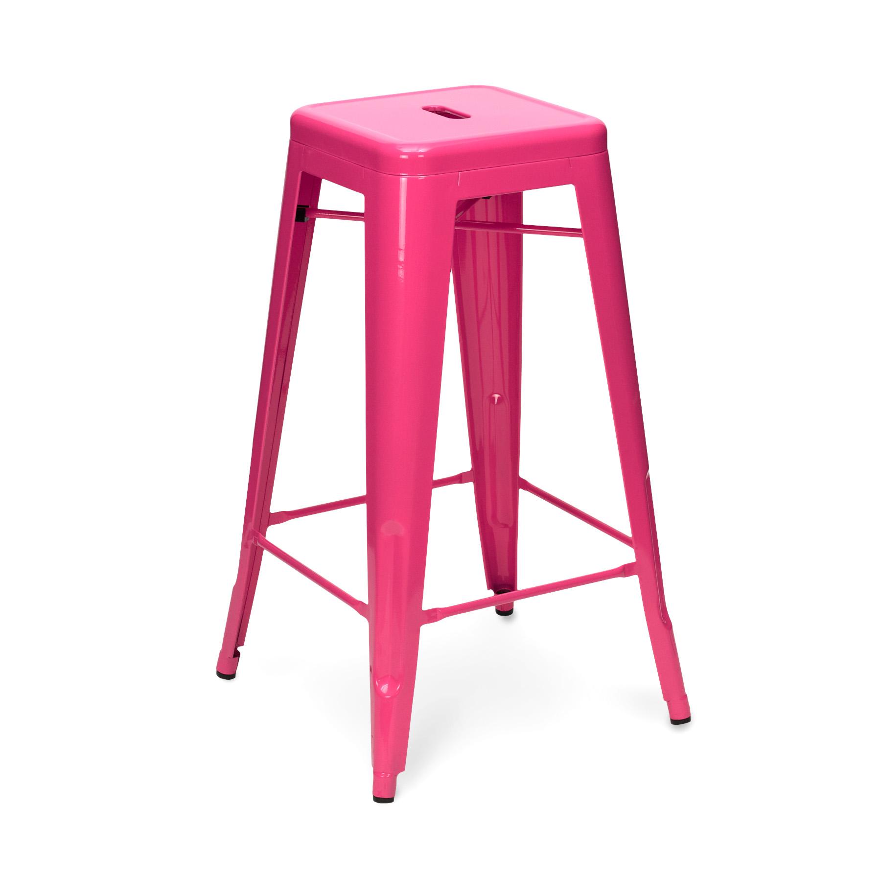 Pink Tolix Stool 65cm75cm : CULT019lipstickpinkfrontside from www.cultfurniturehire.com size 1800 x 1800 jpeg 243kB