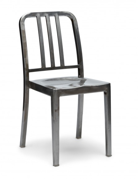 StackableNavyChair_Gunmetal_angle